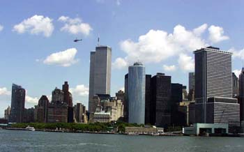 NYC Skyline Aug, 2001
