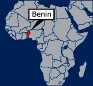 Africa showing Benin