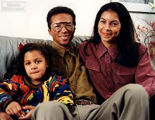 Arthur Ashe family