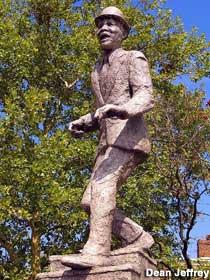 Bojangles Statue