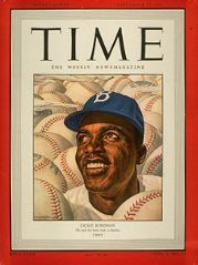 Jackie on the cover of Timer