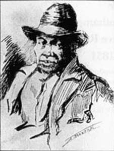 Drawing of Nat Turner
