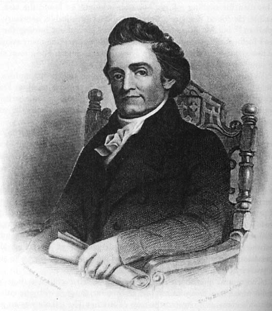Noah Webster as a young man